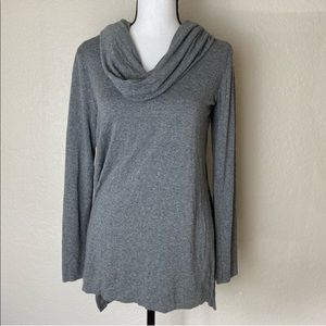 Michael Stars Grey Cowl Neck Sweater Size Small